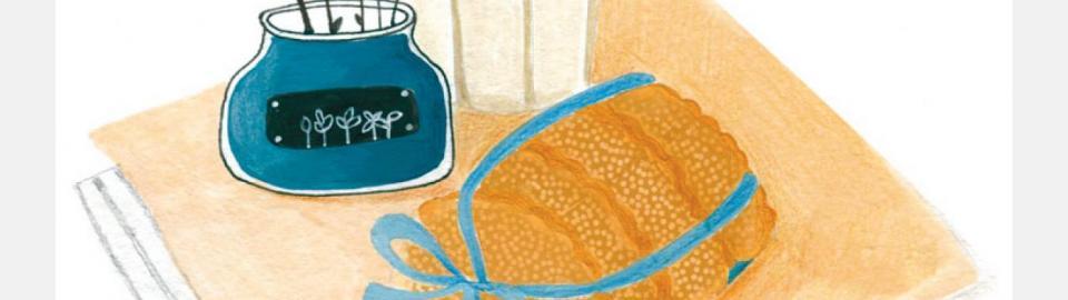 Молочные коржики: рецепт приготовления блюда