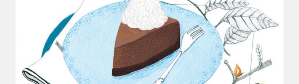 Пирог с шоколадным кремом: рецепт приготовления блюда
