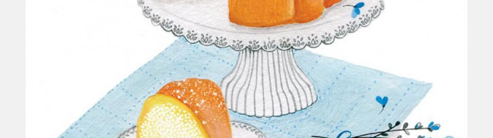 Классический американский Pound Cake: рецепт приготовления