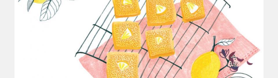 Тонкий лимонный пирог Lemon Bars: рецепт приготовления блюда