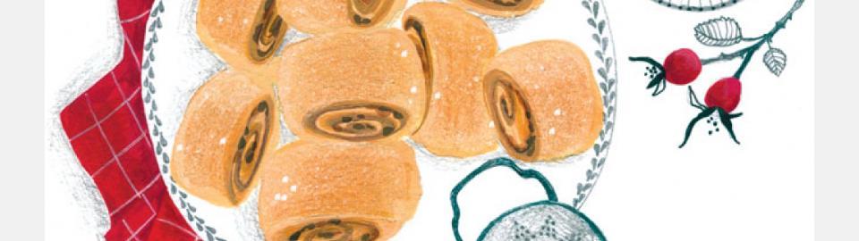 Рулет с грецким орехом: рецепт приготовления