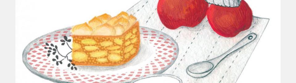 Мамин яблочный пирог: рецепт приготовления