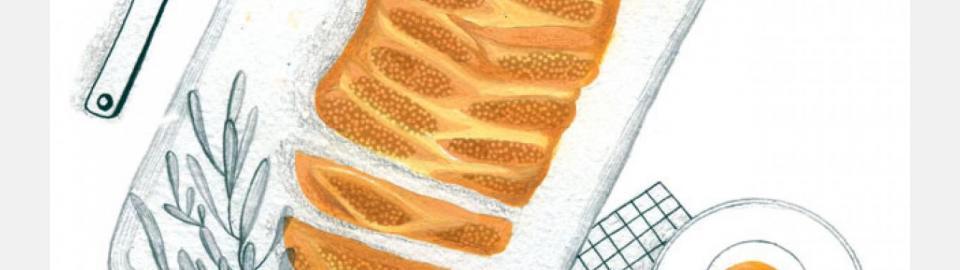 Пирог с творогом и изюмом: рецепт приготовления
