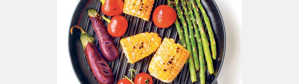 Жарка овощей на гриле: правила приготовления разных овощей
