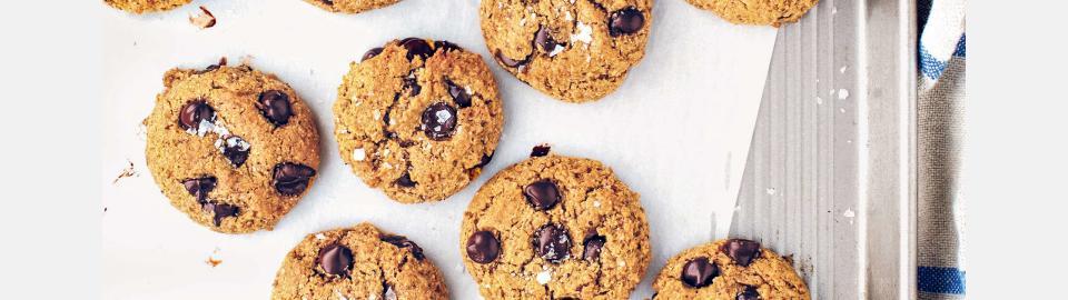 Миндальное печенье без муки с шоколадом: рецепт приготовления