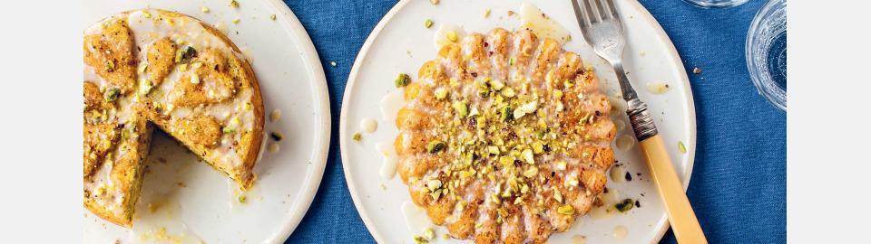 Лимонно-фисташковый кекс с оливковым маслом: рецепт приготовления