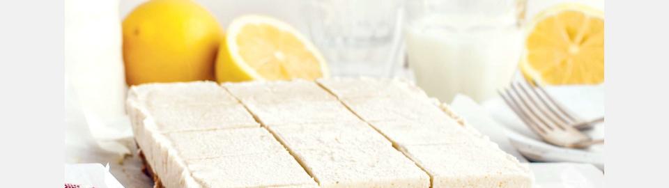 Сливочно-лимонные веганские пирожные: рецепт приготовления