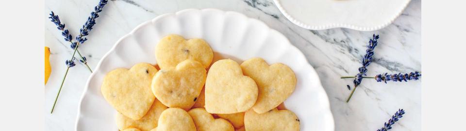 Песочное печенье с лимоном и лавандой: рецепт приготовления