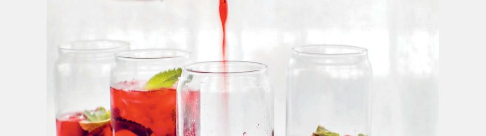 Домашний холодный чай каркаде: рецепт приготовления