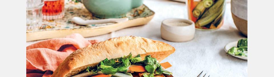 Сэндвичи Бань Ми на завтрак: рецепт приготовления