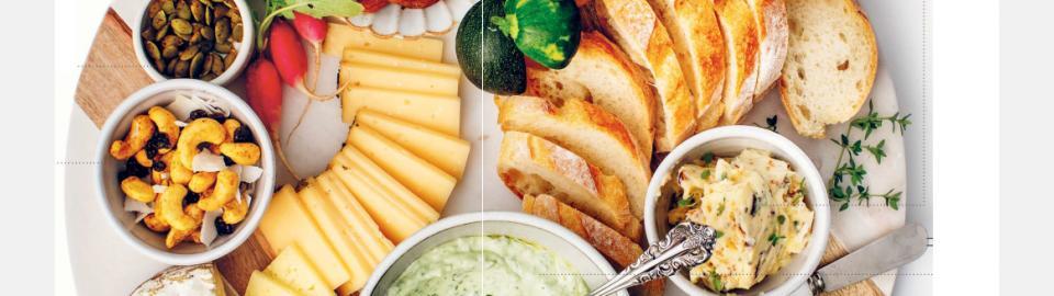 Простые вегетарианские закуски