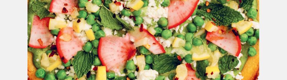 Лепешка сокка «Весна на тарелке»: рецепт приготовления