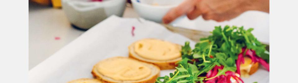 Вегетарианские сэндвичи «Рубен» с портобелло: рецепт приготовления