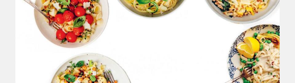 Паста: 5 простых рецептов для вегетарианцев