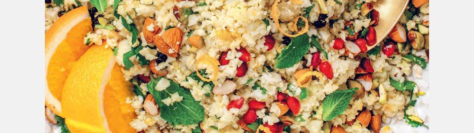 Пилав из цветной капусты с ароматом апельсина: рецепт приготовления