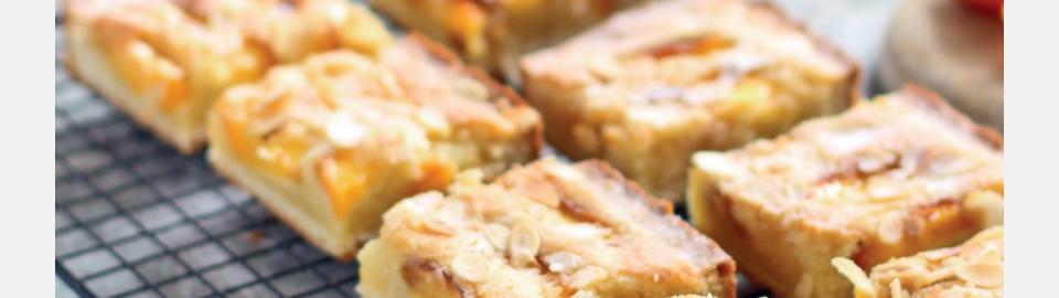 Пирог с нектаринами и франжипаном: рецепт приготовления