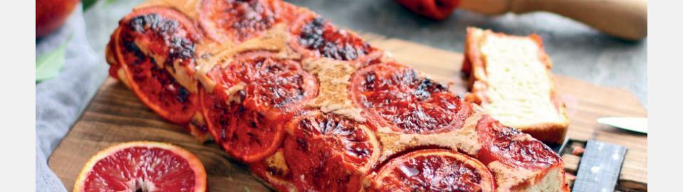 Кекс с красными апельсинами: рецепт приготовления